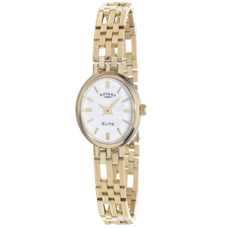 Ladies Rotary 9ct Gold Watch LB10090/02