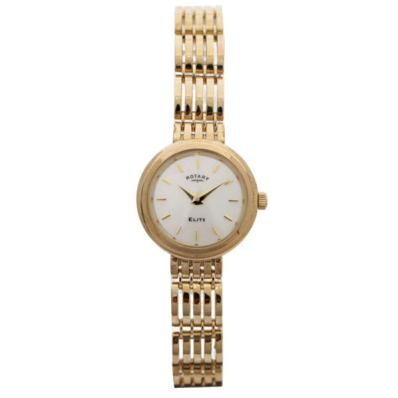 Ladies Rotary 9ct Gold Watch LB10158/07