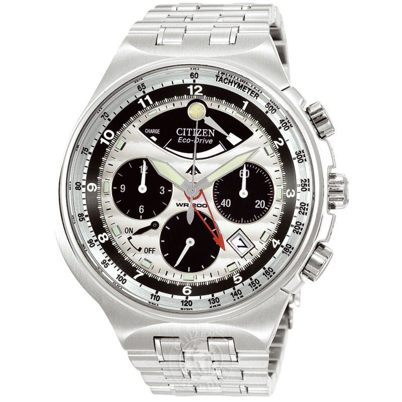Mens Citizen Calibre 2100 Alarm Chronograph Watch AV0031-59A