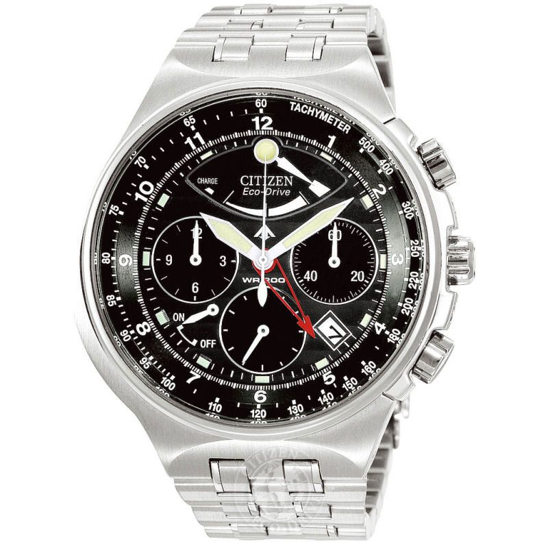 Mens Citizen Calibre 2100 Alarm Chronograph Watch AV0031-59E