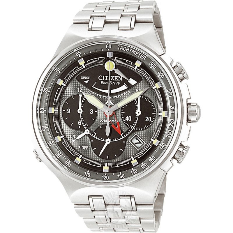 Mens Citizen Calibre 2100 Titanium Alarm Chronograph Watch AV0021-52H