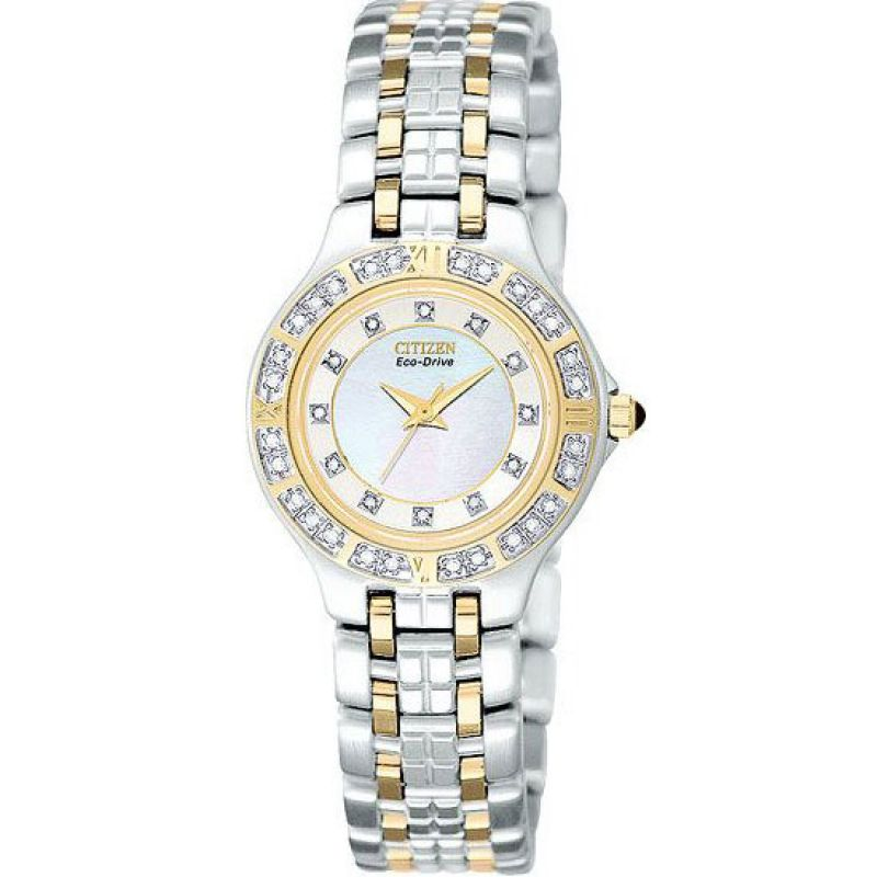 Ladies Citizen Lucca Diamond Watch EP5614-51D