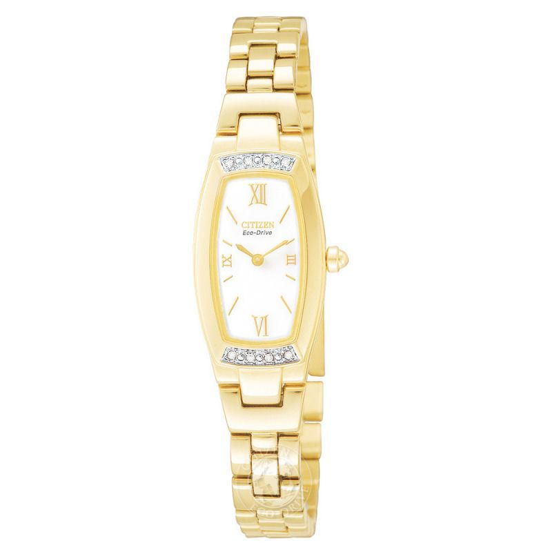 Ladies Citizen Silhouette Diamond Watch EG2462-54A