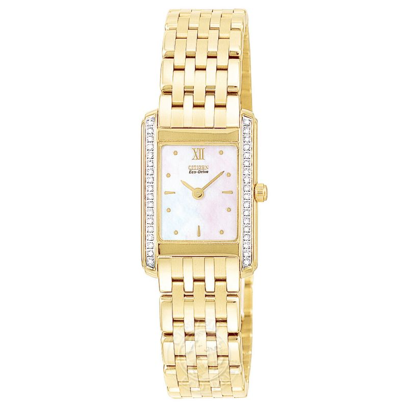 Ladies Citizen Stiletto Diamond Watch EG3022-51D