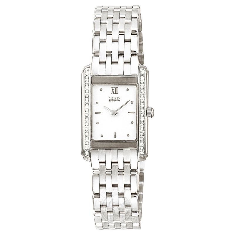 Ladies Citizen Stiletto Diamond Watch EG3020-57A