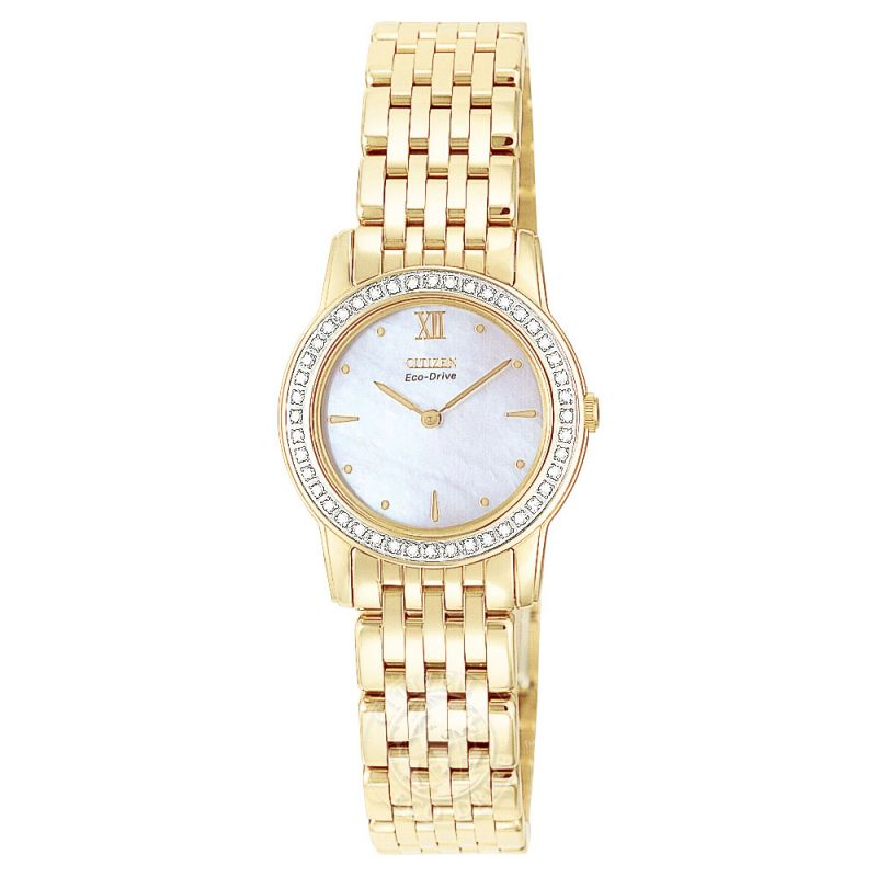 Ladies Citizen Stiletto Diamond Watch EG3002-59D