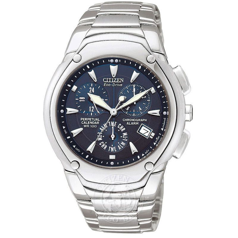 Mens Citizen Modena II Alarm Chronograph Watch BL5270-56L