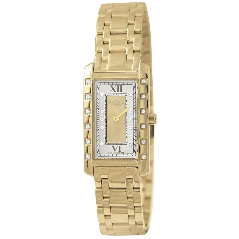Ladies Rotary Rocks Diamond Watch RLB00009/40