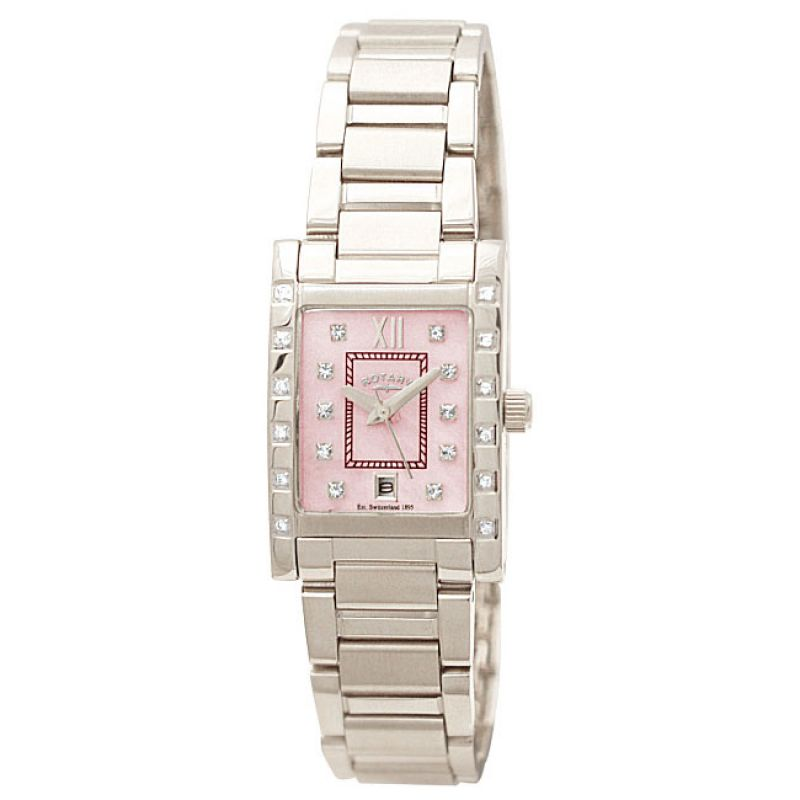 Ladies Rotary Rocks Diamond Watch RLB00016/07