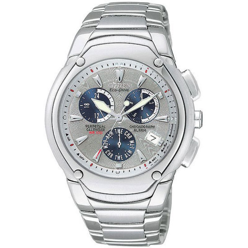 Mens Citizen Modena II Alarm Chronograph Watch BL5270-56A
