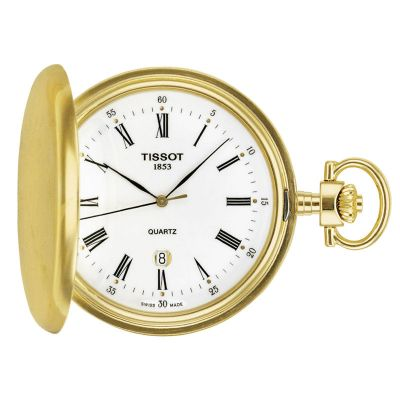Unisex Tissot Savonette Full Hunter Pocket Watch T83455313