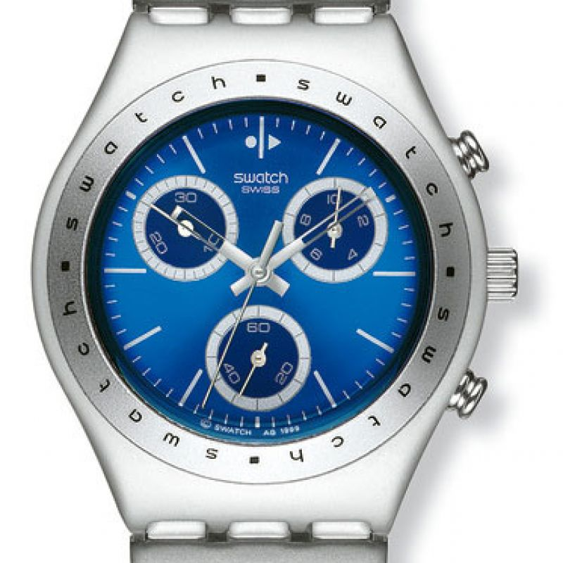 Mens Swatch Hypnotic Chronograph Watch YMS1003AG