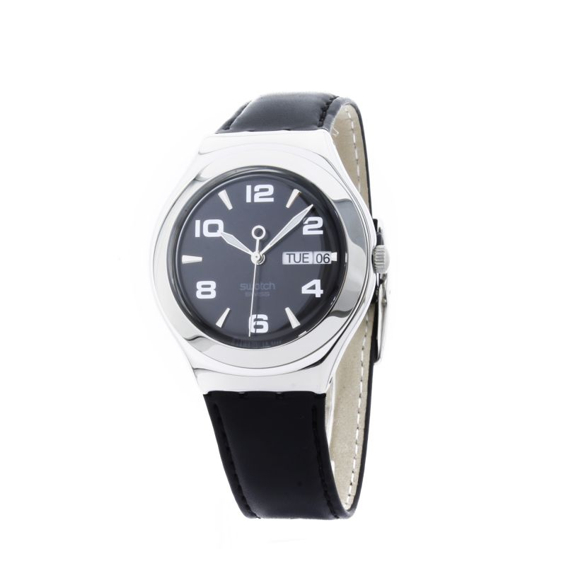 Mens Swatch Feature Steel Watch YGS737