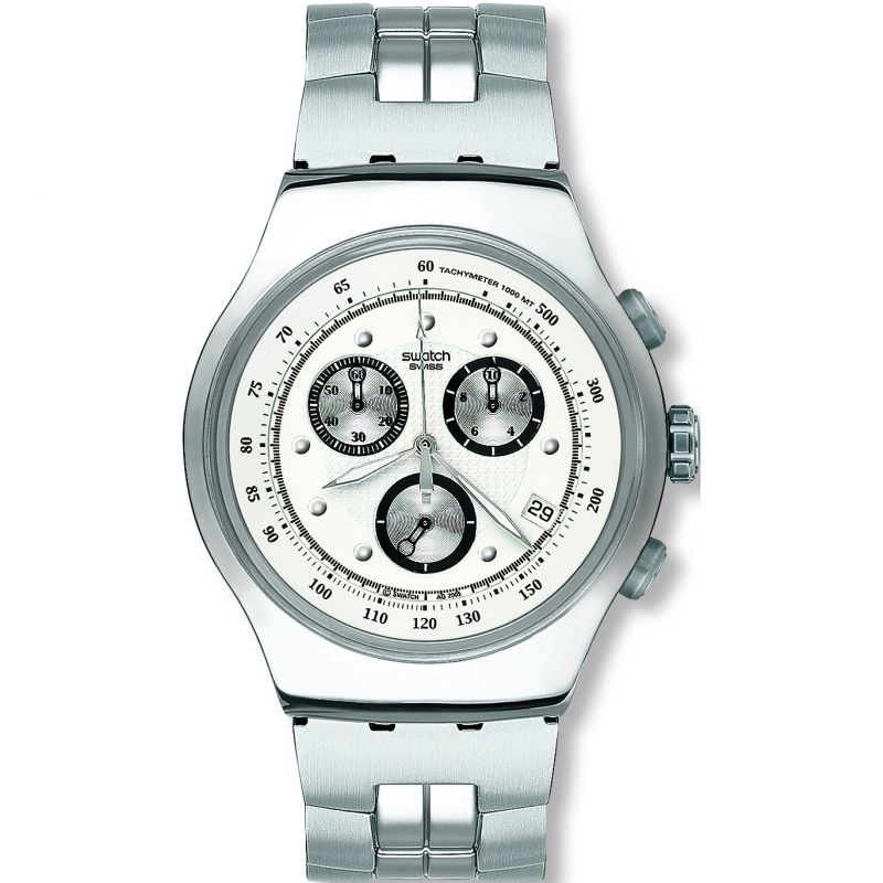 Mens Swatch Wealthy Star Chronograph Watch YOS401G