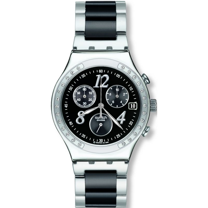 Unisex Swatch Dreamnight Chronograph Watch YCS485G
