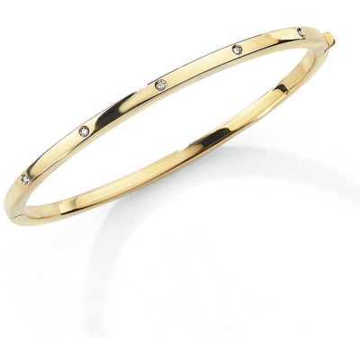Jewellery Dam Bangle 9 karat guld
