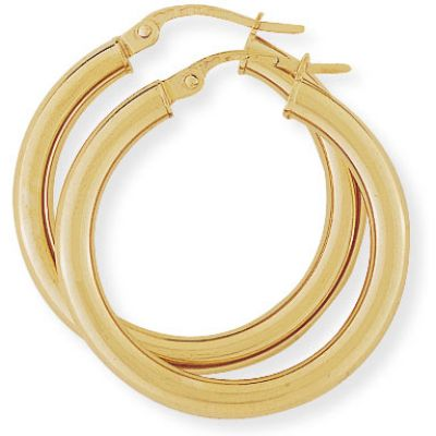 Jewellery Ohrring 9 Karat Gold