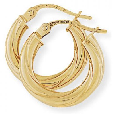Jewellery Earring 9K Goud