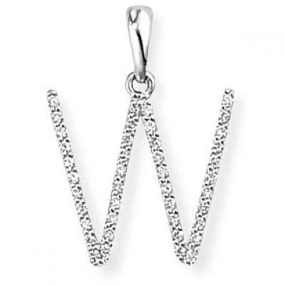 Jewellery 18ct White Gold Pendant