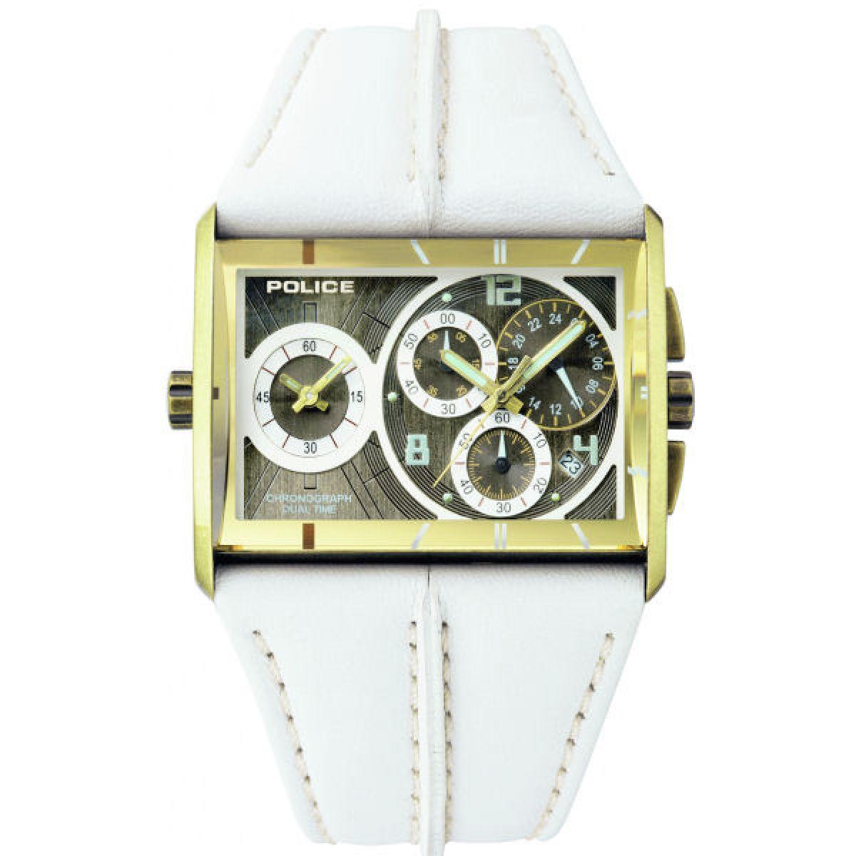 unisex police twingear chronograph watch 11397jsag 22 watchshop com rh watchshop com