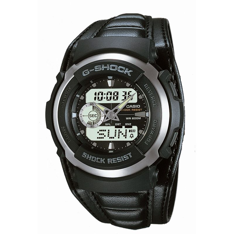 Mens Casio G-Shock Alarm Chronograph Watch G-300L-1AVES