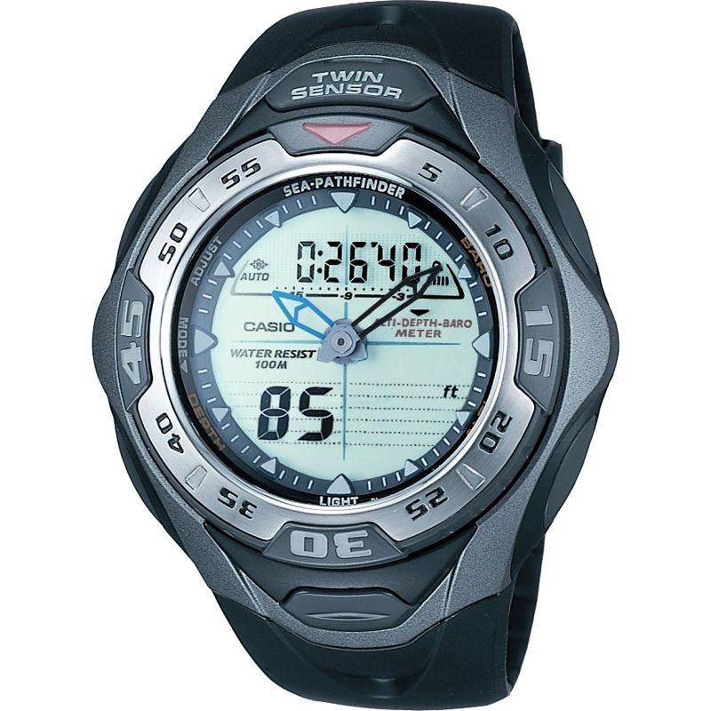 Mens Casio Sea Pathfinder Alarm Chronograph Watch SPF-60S-1VER