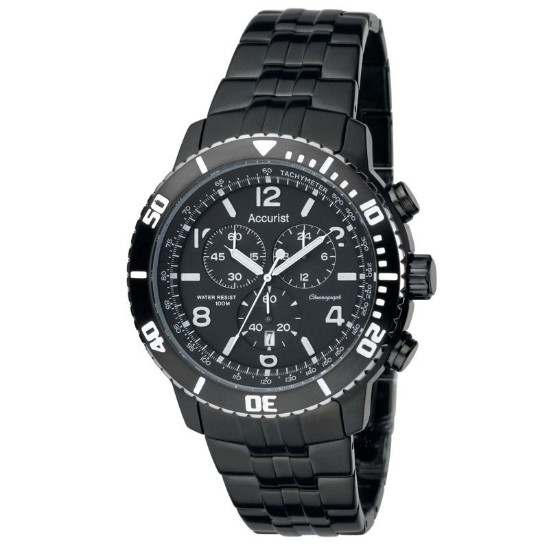 Mens Accurist Chronograph Watch MB738B