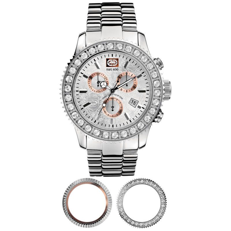 Mens Marc Ecko The Master Piece Chronograph Watch E18500G1