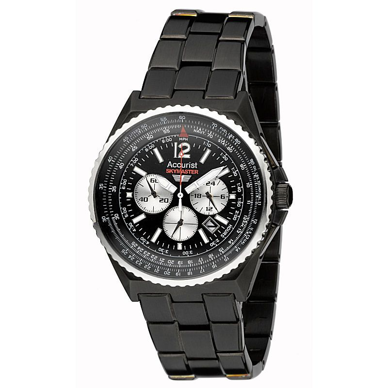 Mens Accurist Skymaster Chronograph Watch MB755B