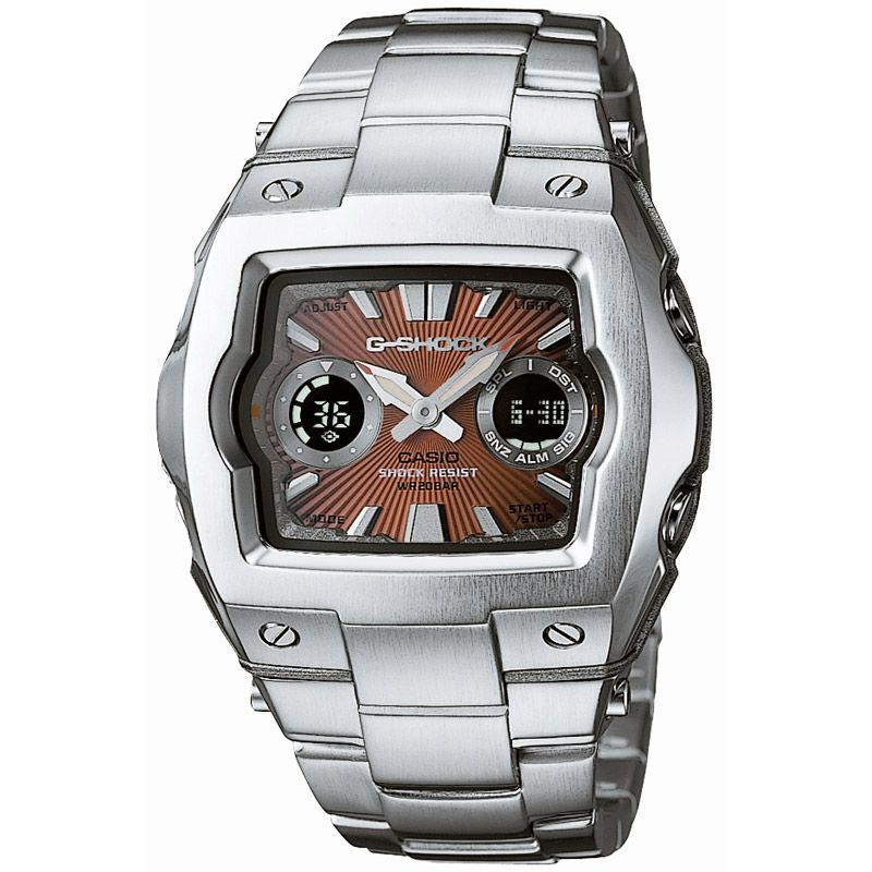 Mens Casio G-Shock Alarm Chronograph Watch G-011D-4AER