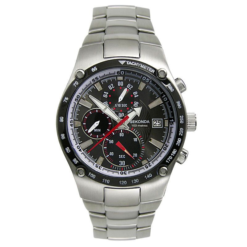 Mens Sekonda Chronograph Watch 3922