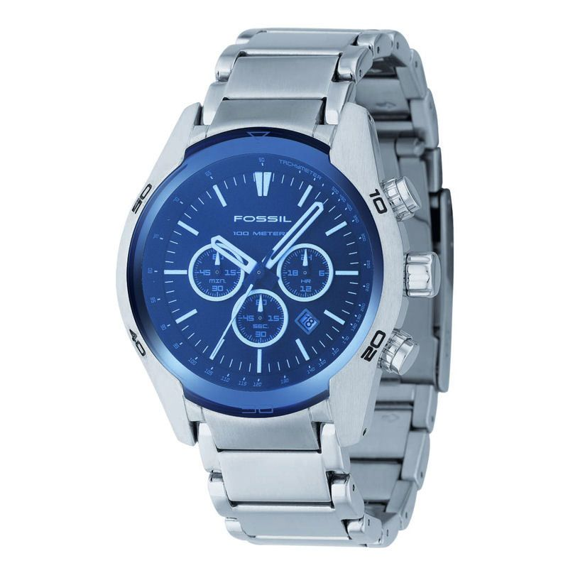 Mens Fossil Chronograph Watch CH2516