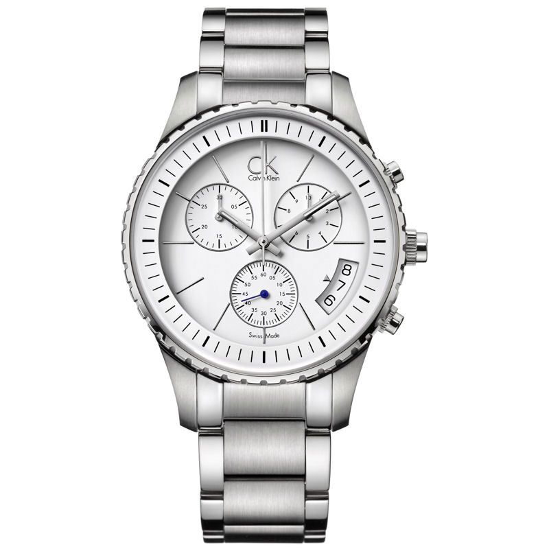 Mens Calvin Klein Challenge Chronograph Watch K3217401