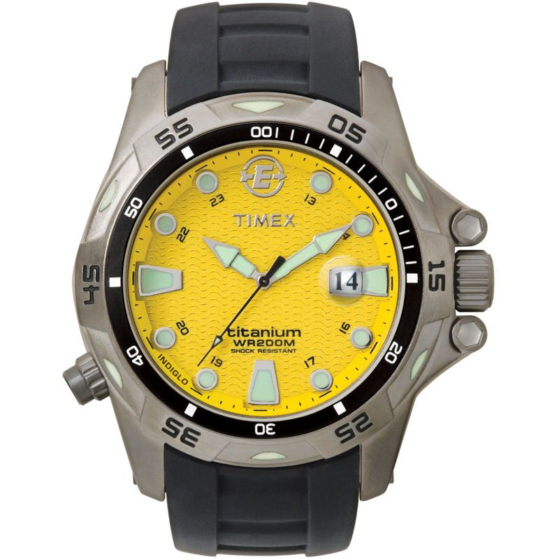 Mens Timex Titanium Watch T49614