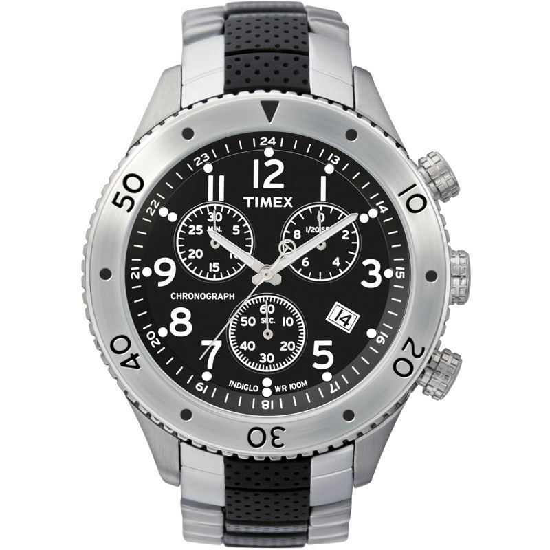 Mens Timex Chronograph Watch T2M706