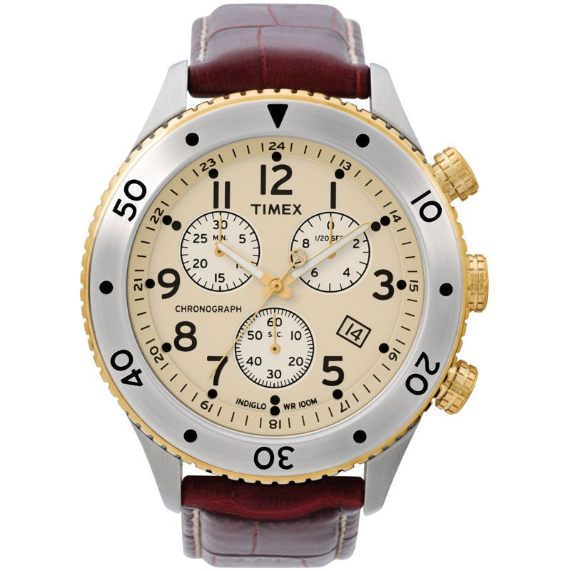Mens Timex Chronograph Watch T2M705