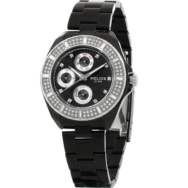 Ladies Police Navy II Watch 11547MSB/02M