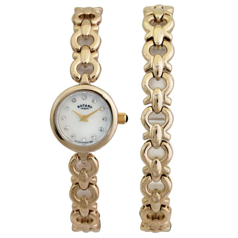 Ladies Rotary Bracelet Set Watch LB00024/BR/40