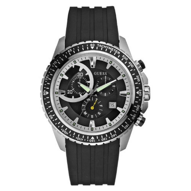 Mens Guess Chronograph Watch W16545G1