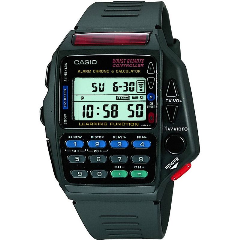 Mens Casio Digital Infra-Red Remote Controller Alarm Chronograph Watch CMD-40-1ZT