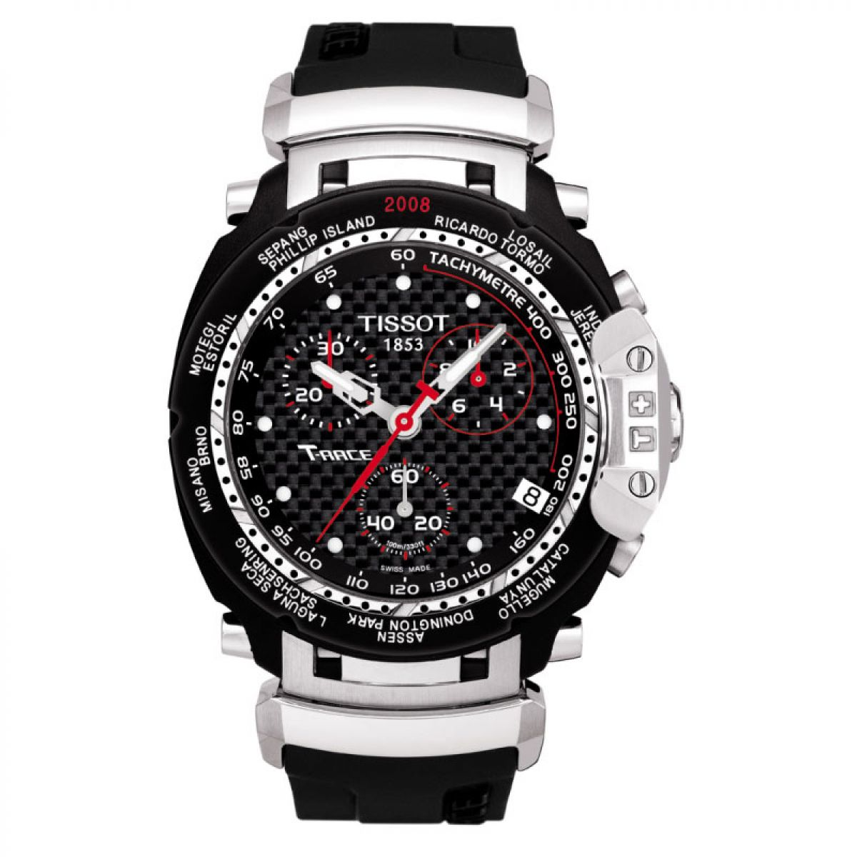 gents tissot t race motogp 2008 chronograph watch. Black Bedroom Furniture Sets. Home Design Ideas