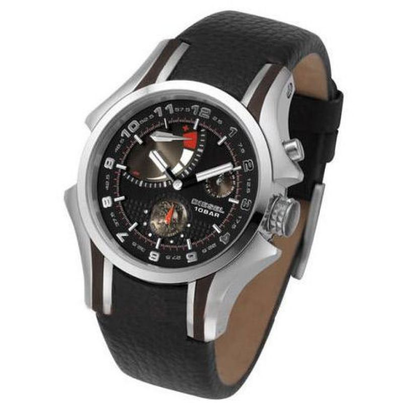 Mens Diesel Black Label Automatic Watch DZ9029