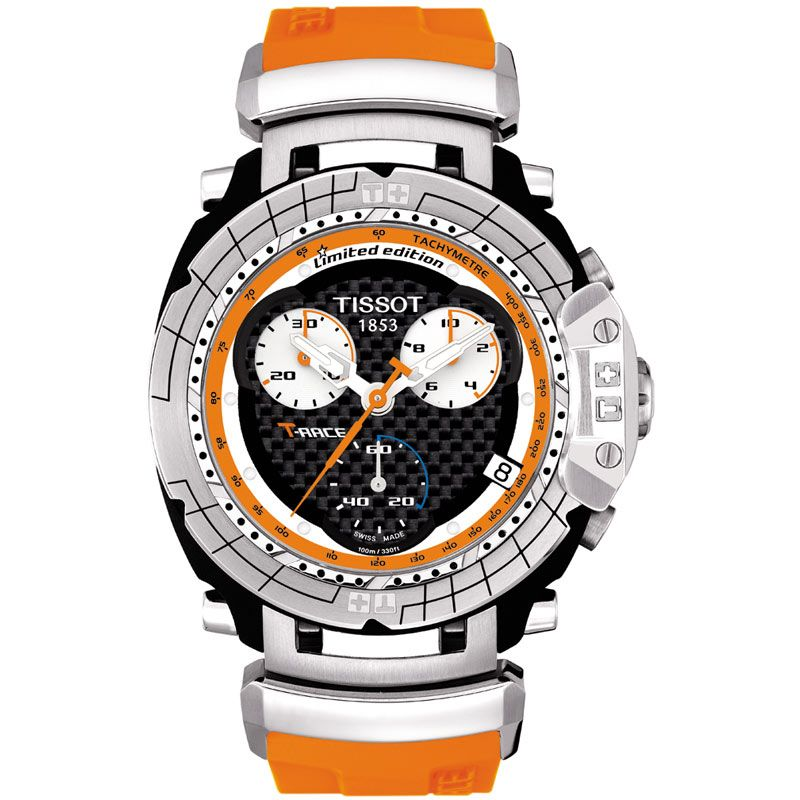 Mens Tissot T-Race Nicky Hayden MotoGP Limited Edition Chronograph Watch T0274171720100