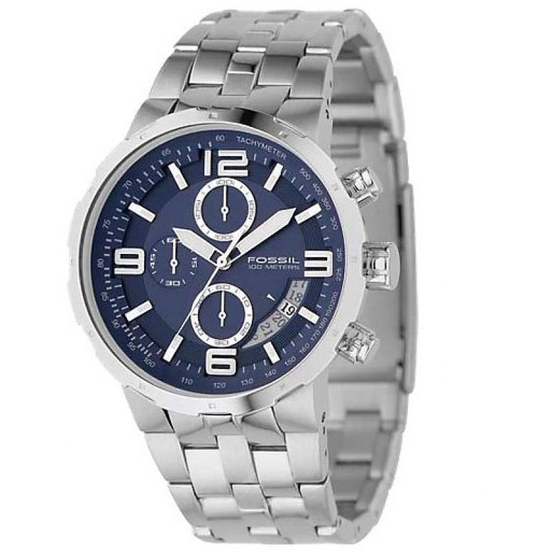 Mens Fossil Chronograph Watch CH2538