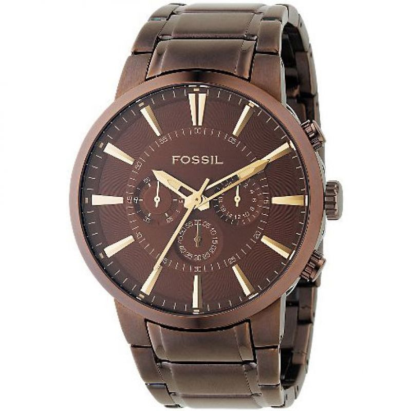 Mens Fossil Chronograph Watch FS4357