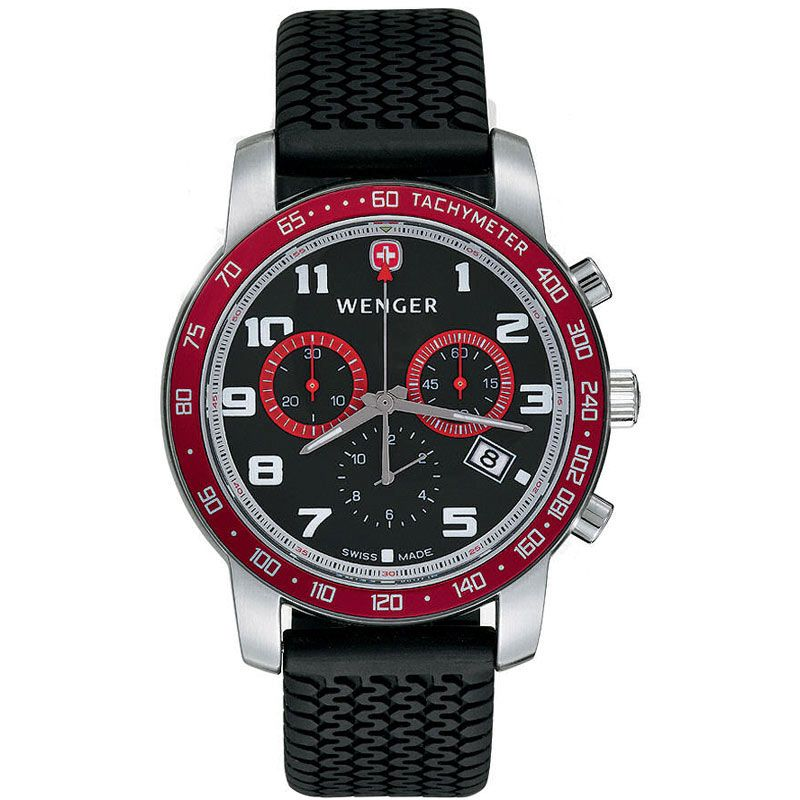 Mens Wenger Rally des Alpes Chronograph Watch 70801