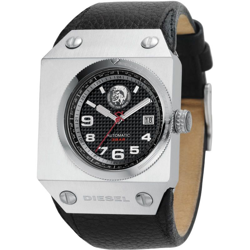 Mens Diesel Black Label Automatic Watch DZ9018