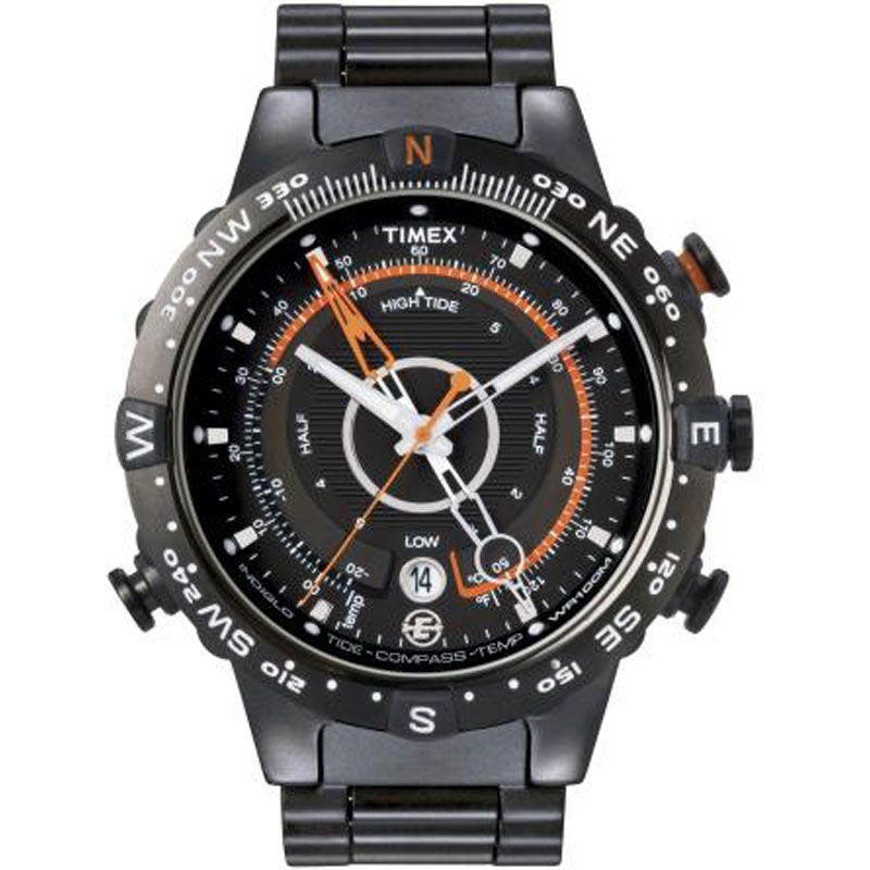Mens Timex Expedition E-Tide Temp Compass Watch T49709