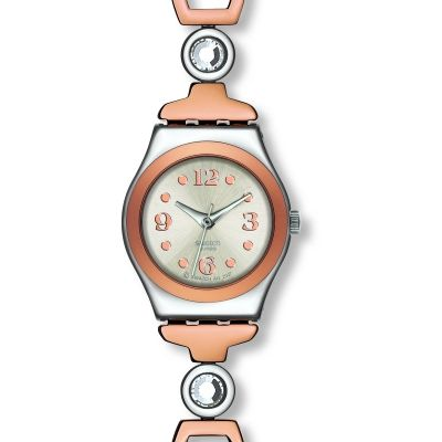 Swatch Lady Passion Dameshorloge Tweetonig YSS234G