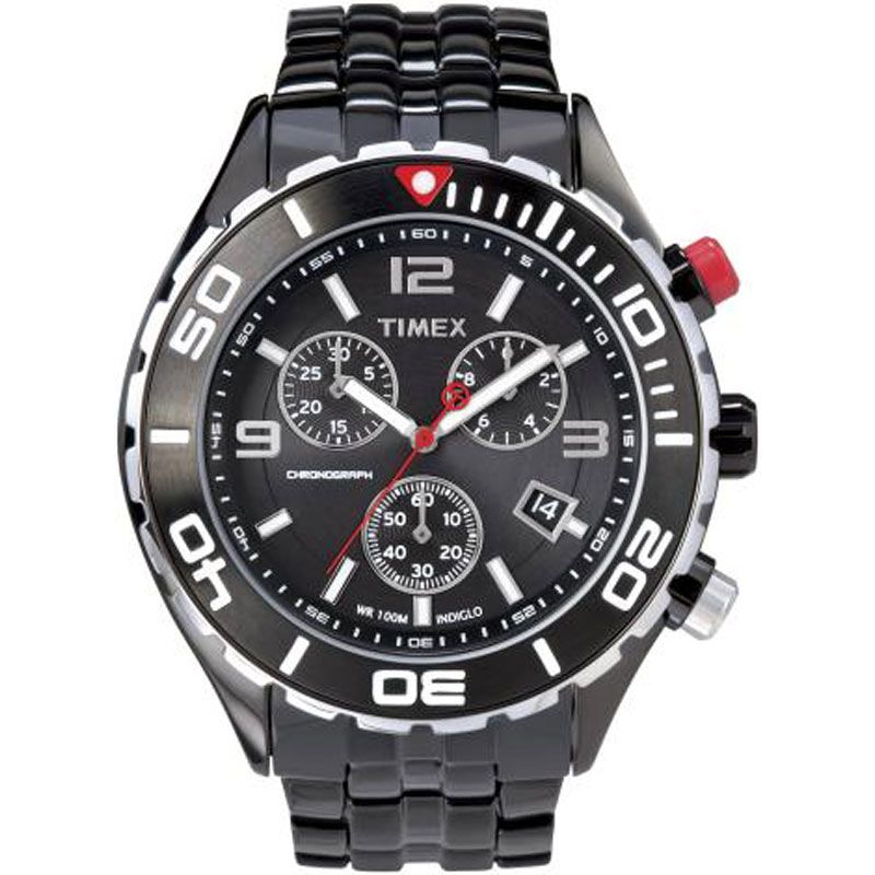 Mens Timex Chronograph Watch T2M758